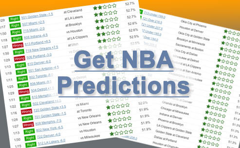 Sample of our 2017-18 NBA betting picks