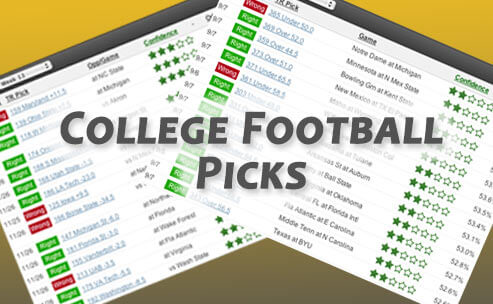 Sample of our 2012 college football bowls betting picks